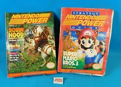 Lot of 2 Vintage Nintendo Power Issues Super Mario Bros 3 Guide amp; Vol. 26 $42.99