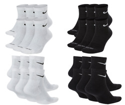 NIKE Everyday PLUS Performance Ankle Length Socks Pick 1 3 6 Pairs Dri Fit $29.95