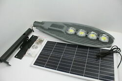 SEE NOTES Commercial Solar ST200 007 6000K Super Bright Street Light w Remote