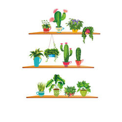 Green Wall Decorations Wall Stickers Stickers for Office Home Living Room $8.38