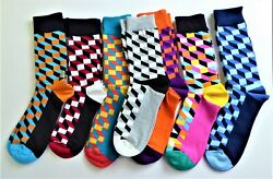 Colorful Novelty Socks Seven Pair Unisex Good quality New $20.99