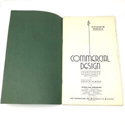 Vtg 1945 Commercial Design Reproduction Illustrations Art Instruction Inc Div 12