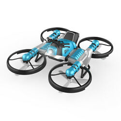 WiFi FPV RC Drone Motorcycle 2 in 1 Foldable Helicopter Camera 0.3MP Altitude $41.99