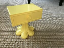 American Girl Julie#x27;s side table nightstand for 18quot; doll NEW bedroom yellow $35.91
