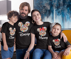 Disney Family Vacation customized t shirts New Matching T Shirts for families. $12.99