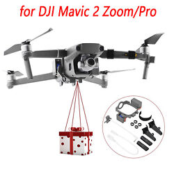 Drone Delivery Device Air Thrower Dropping System Set for DJI Mavic 2 Zoom Pro $45.33