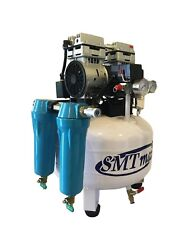 New 1 HP 8 Gallon Oil Free Noiseless Dental Air Compressor with 2 Stage Dryer $773.25