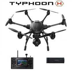 New YUNEEC Typhoon H Hexacopter Drone ST16 CGO3 4K Camera amp; Carrying Case $899.95