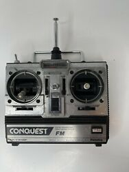 Futaba Conquest FM Digital Proportional RC System Remote FP T4NBF Used As Is $24.99