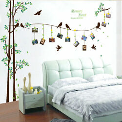 Family Tree Wall Decal Mural Sticker DIY Art Removable Vinyl Home Stickers H8 $16.52