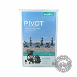 OPEN BOX Evenflo Pivot Modular Travel System with SafeMax Car Seat in Sandstone $211.99