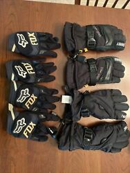 Kids gloves Fox Racing and Winter Gloves $22.00