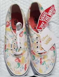 Vans Off The Wall Girls Kids Youth Disney Ariel Little Mermaid Shoes 2.5 $125.00