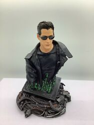 The MATRIX Neo mini bust KEANU REEVES Gentle Giant $55.00