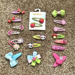 Lot Of 19 GYMBOREE Hair Accessories Curly Loops Clips New amp; Vintage $23.00