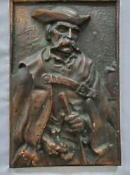 Pre Owned Wall Metal Decoration Shepherd of Hortobagy#x27;s from Hungary $35.00
