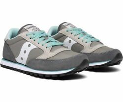 Saucony Style Active Sneaker Jazz Lowpro Grey Mint Womens $44.95