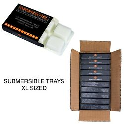 Expedition Solid Fuel 40 XL Hexamine Tablets in 10 Retail Rugged amp; Submersible $29.77