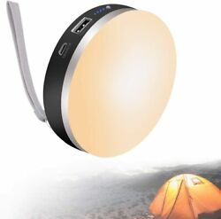 Rechargeable Camping Lantern led Lantern Power Outage Emergency Light w Cover $29.49