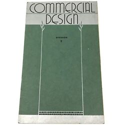 Vtg 1945 Commercial Design Art Instruction Inc Div 2 Drawing Textbook Art Deco