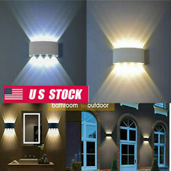 Durable 8W Led Wall Lights Up Down Indoor Lamp Sconce Waterproof Home Wall Light $23.73