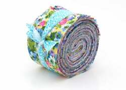 New Vintage Floral Shabby chic light jelly roll cotton fabric quilt strips 2 5 $14.99