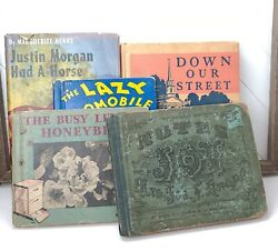 Lot Of Five Vintage Children#x27;s Books 1930#x27;s 1940#x27;s $28.00
