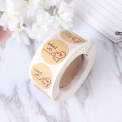1 Roll Baking Themed Stickers Baking Decoration Sticker DIY Decorative Stickers $6.32