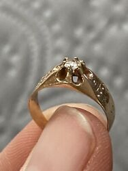 Victorian Antique Diamond Ring $650.00