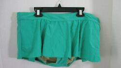 MERONA Green SKIRTED BATHING SUIT SWIMSUIT BOTTOMS Women#x27;s XL $10.50