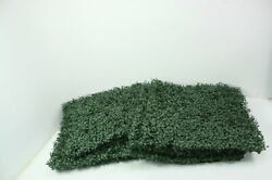SEE NOTES Flybold 6 Artificial Boxwood Panels Topiary Hedge Plant 20x20 In Green $51.95