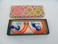 Vintage Gag Gift Novelty – For the Girl Who Has Everything Niftee Nipple Warmers $19.99