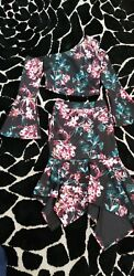 Glamorous Sexy 2 Pierce Bebe skirt set NWT 250$ skirt xs top small $30.00