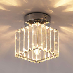 Jaycomey Ceiling Lamp1 Light Crystal Pendant Lighting FixturesClose To Ceiling $33.04
