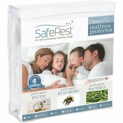 SafeRest Twin Extra Long XL Size Classic Plus Hypoallergenic 100% Waterproof $27.43