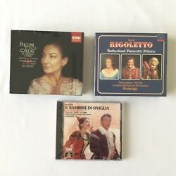 Classical Opera Boxed CD Sets Lot of 3 NEW And Factory Sealed $29.95