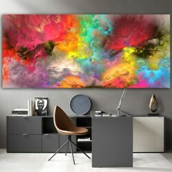 Cloud Abstract Canvas Painting Wall Picture Home Decor Canvas Wall Art Print Art $22.55