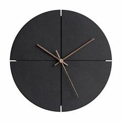 MODIRNATION Wooden Modern Wall Clock Minimalistic and Stylish Walnut Hands Si $75.83