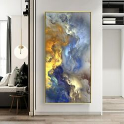 Abstract Clouds Wall Painting Decor Canvas Art Printing Wall Decor Poster Prints $21.61