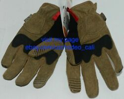 Mechanix Wear 911751 M PACT Impact Protection Gloves Brown Black XL $15.99