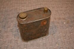Vintage Lantern Tin Fuel Tank Used Screened fill poer and smaller pour port $25.00
