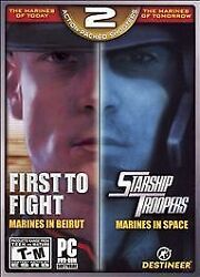 First to Fight Starship Troopers PC 2007 $19.99