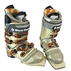 $690 Black Diamond Stiletto 100 Telemark Ski Boots Size 24.5 Womens AT Demos $199.99