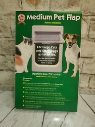 Ideal Pet Medium Pet Flap Door Large Cats And Small Dogs To 25lbs 7.5x10.5 new $31.00