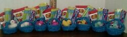 Mini Basket Holiday Easter Novelty Filled Party Favors Lot of 8 $17.99
