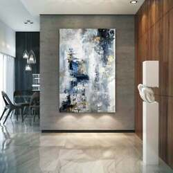 Canvas Painting Abstract Textured Prints and Posters Canvas Wall Art Wall Decor $18.79