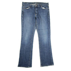 Old Navy Womens The Sweetheart Jeans Bootcut Size 12 Long Low Rise Stretch