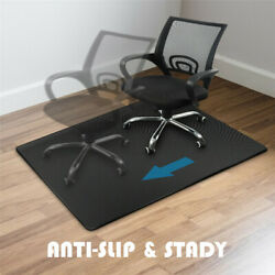 PVC Mat Home Office Carpet Hard Protector Floor Office Chair 55quot;x35quot; 4mm Thick $24.99