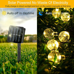 Outdoor Solar Powered 30 LED String Light Garden Patio Yard Landscape Lamp Party $9.99