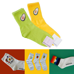 Premium Women Socks with Soft Breathable Cotton Made in Korea $9.90